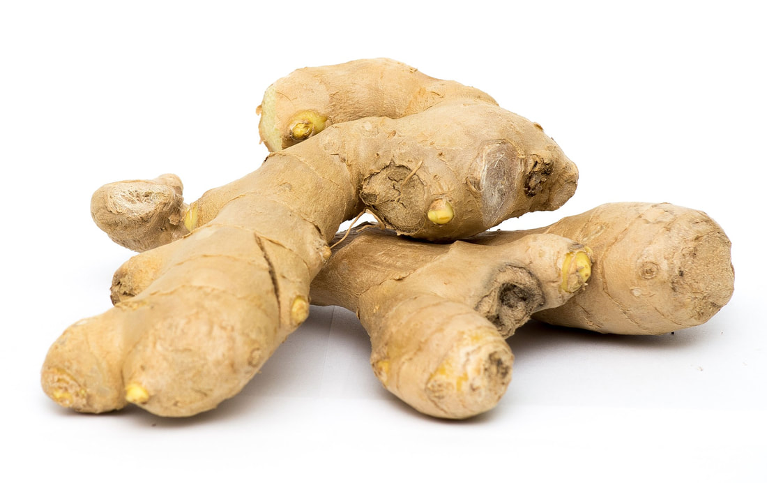 ginger for kombucha flavoring